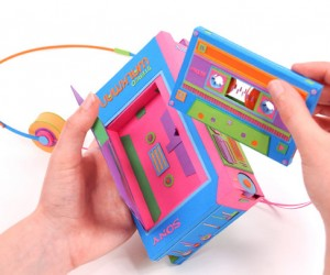 Retro Tech Gets a Papercraft Makeover