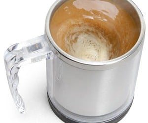 The Self-Stirring Mug: Pure Genius