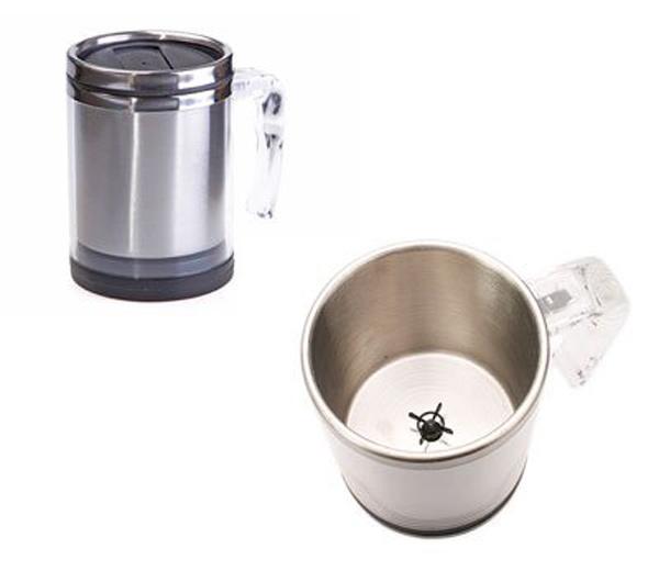 thinkgeek self stirring mug