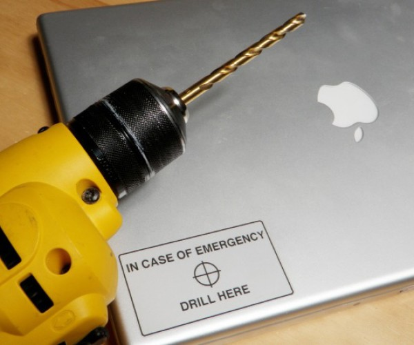 Protect Your Hard Drive Secrets With a Simple Sticker