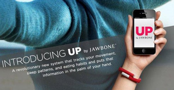 jawbone up wristband health tech monitor app