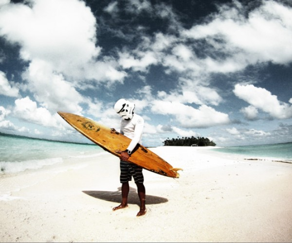 stormtrooper vacation fun empire star wars tropics