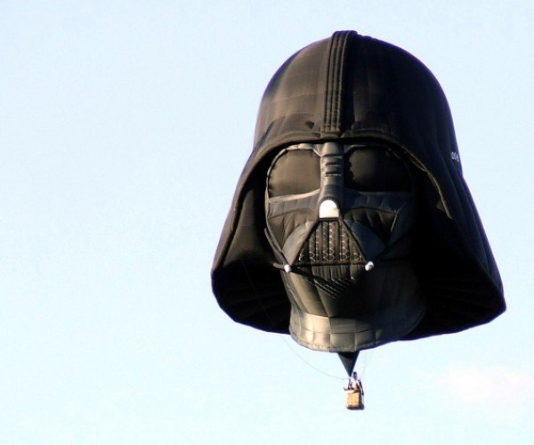Darth Vader Hot Air Balloon: The Dark Side Feels Light-Headed