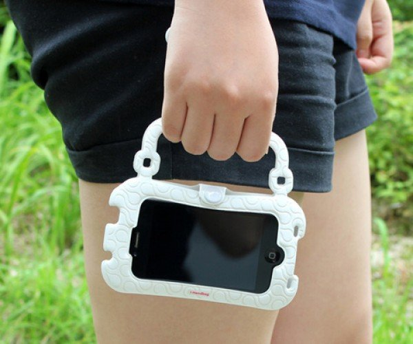 Nothing Design's i-Handbag: Nothing But a Tiny Purse for Your Smartphone