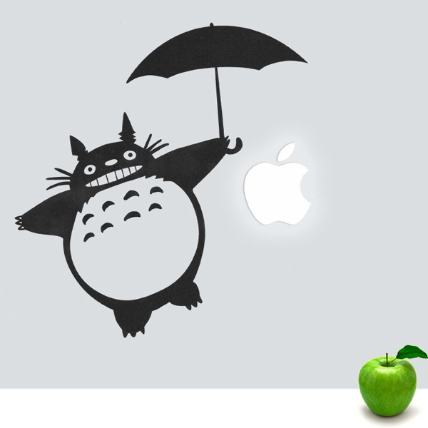 stickerfun vinyl macbook decals totoro miyazaki