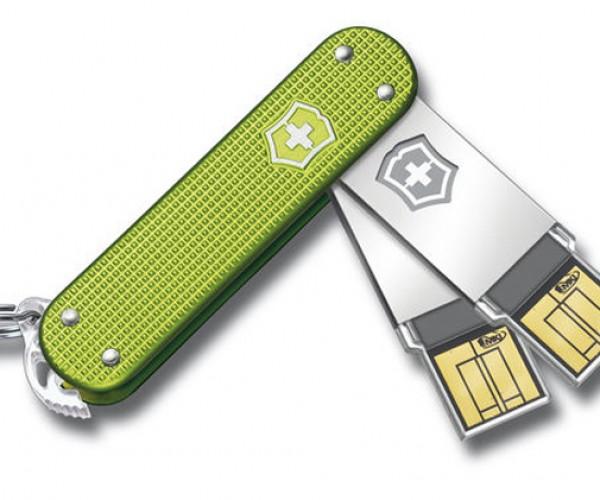 Swiss Army Slim USB Flash Drives Look Sharp Wihout Knives