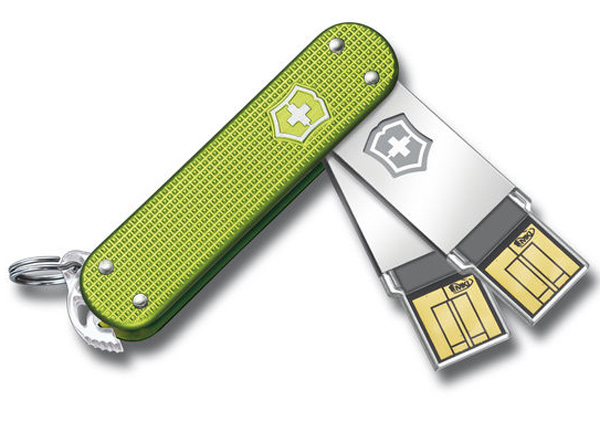swiss army slim duo usb flash drive victorinox computing