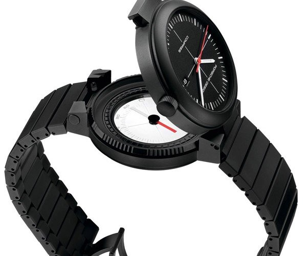 Porsche Design Watch Hides a Compass Beneath its Face