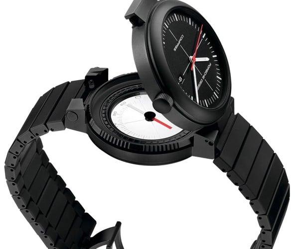 Porsche Design Watch Hides a Compass Beneath its Face