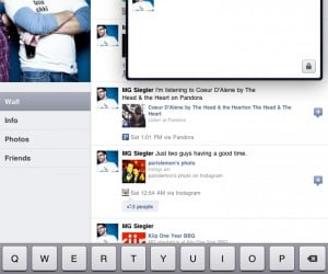 Facebook's iPad App Hiding Inside iPhone Version