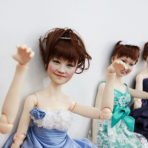the clone factory tokyo japan dolls 3d printing spooky weird