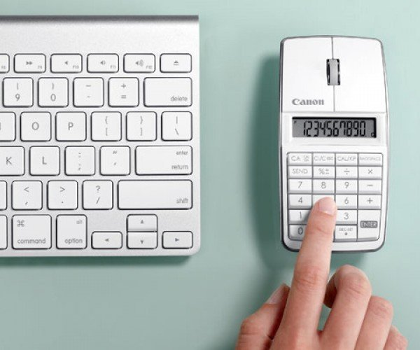 Canon X Mark I Mouse Lite with Built-in Numeric Keyboard: Too Many Buttons or Just Enough?