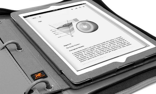 binderpad ipad apple zoogue case binder school