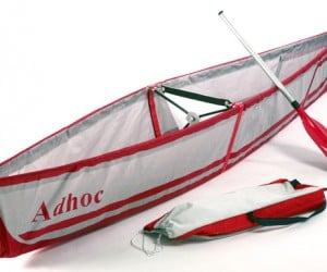 Adhoc Folding Canoe for a Quick Water Getaway