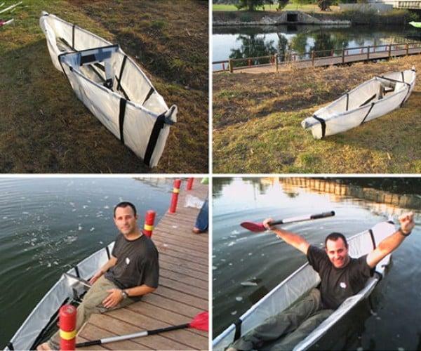 adhoc ori levin tsor design foldable canoe