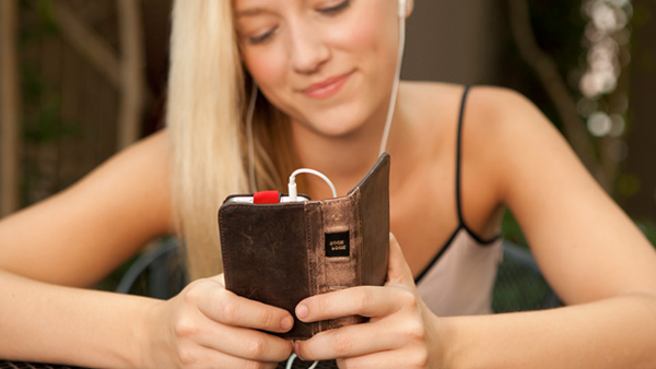 bookbook iphone wallet case leather book twelvesouth