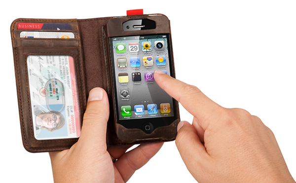 bookbook iphone wallet case leather book twelvesouth