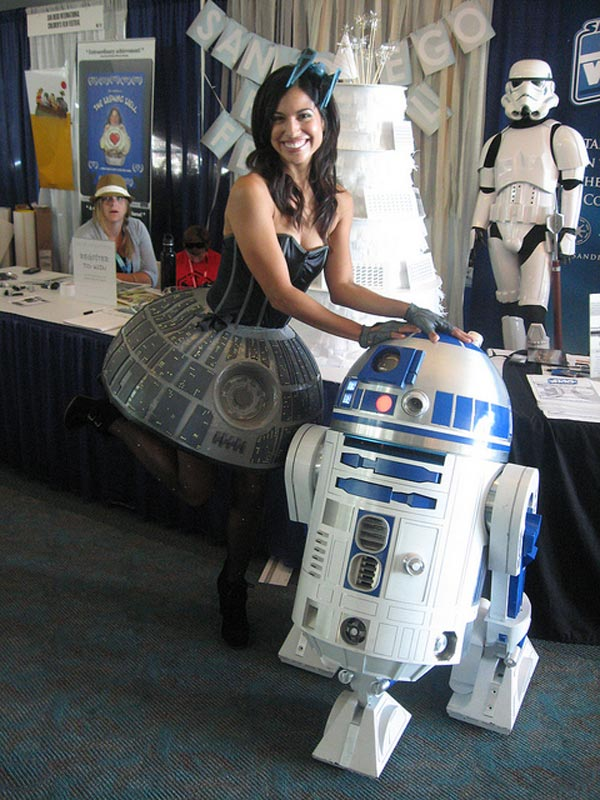 jennifer landa death star miss cosplay dress diy san diego comic con
