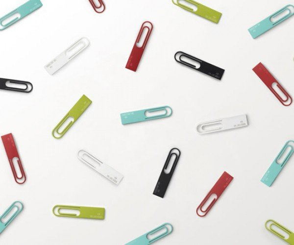 Nendo Data Clip for Elecom: Clip it Anywhere