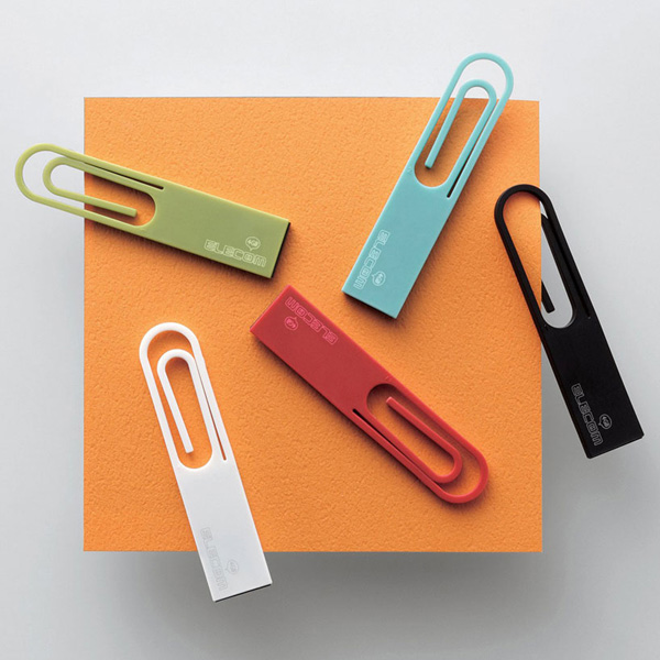 elecom data clip usb nendo japan flash drive