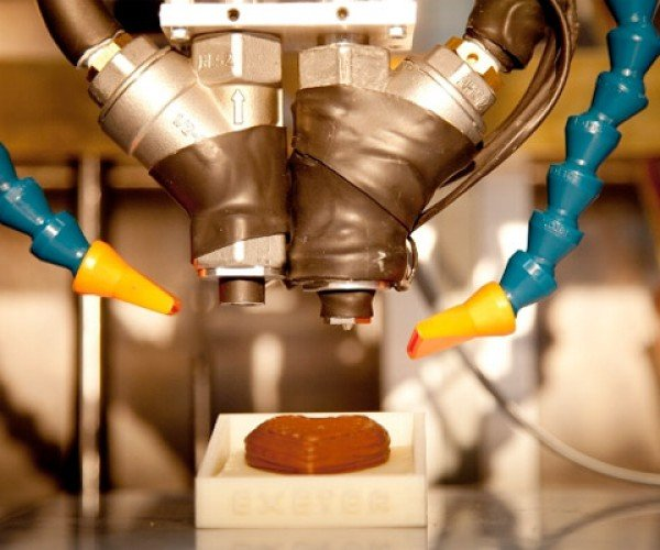 3D Printer Creates Chocolate in Any Shape