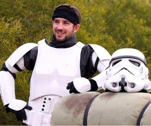 Stormtrooper Plans to Walk All Across Australia for Charity