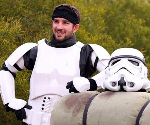 Stormtrooper Plans to Walk All Across Australia for Charity