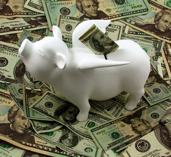 Flying Piggy Bank