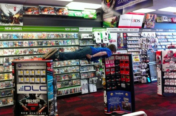 GameStop Employee Fired After Caught Planking