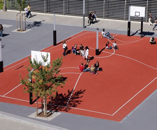 3D Basketball Court Looks Cool; Now If Only We Could Play Ball On It