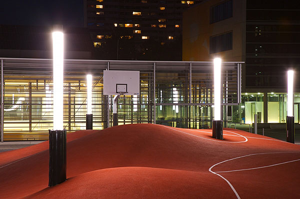 Munich 3D Basketball Court
