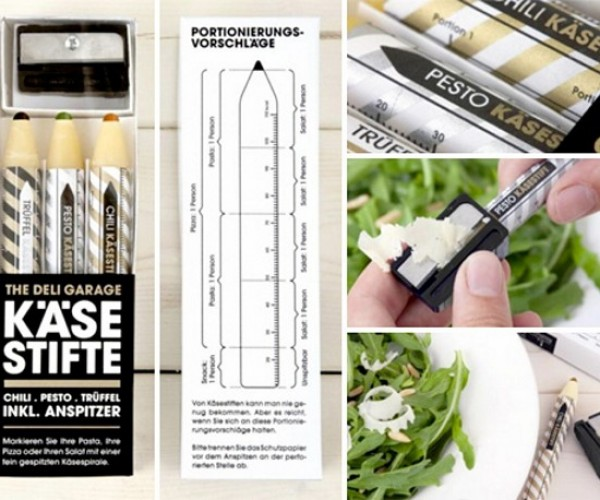 Parmesan Pencils: Put Some Shavings On Your Salad