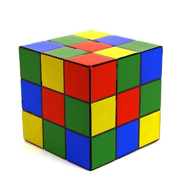 Retro Rubiks Cube Stress Ball
