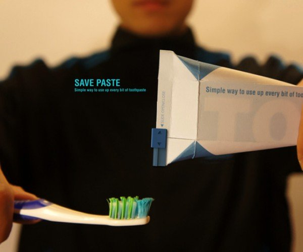Waste Toothpaste No More With the SavePaste Toothpaste Tube