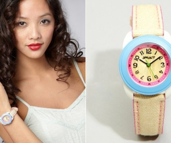 Eco-Friendly Sprout Watches Are Bright, Colorful, and Biodegradable