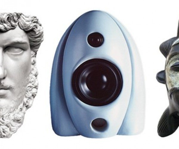 Speakers That Double as Works of Art by Pro Prop Builder Richard Grant