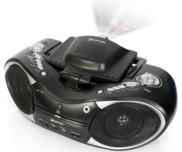 Aiptek MobileCinema D20 Boombox: Ghetto Projector