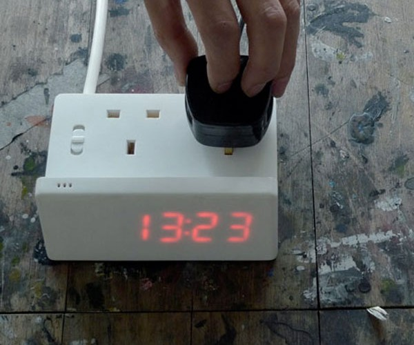Alternative Alarm Clock Wakes You by Turning Things on