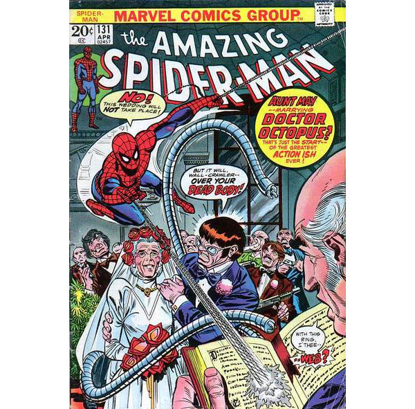 amazing spiderman comic wedding save the date by jason clemons 2