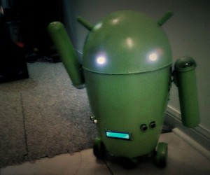 From Trashcan to R/C Android 'Bot
