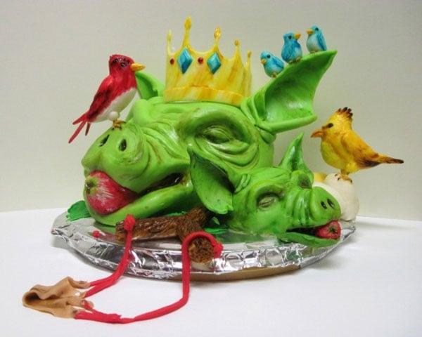 Furious Fowl Cake 1