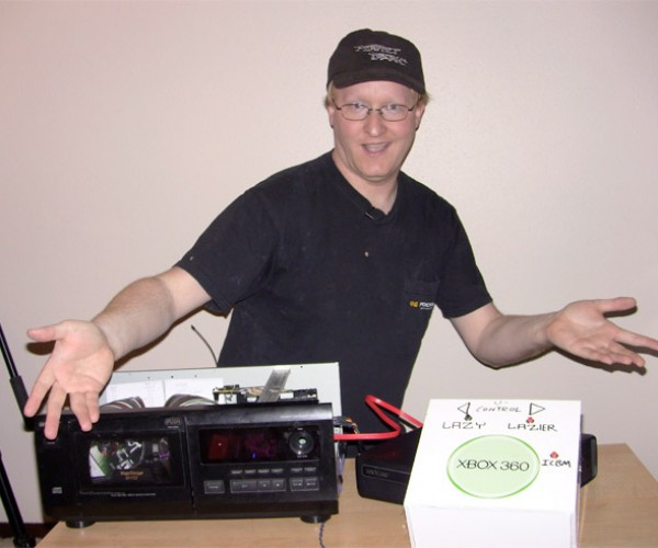 Ben Heck Creates Xbox 360 Automatic Disc Changer