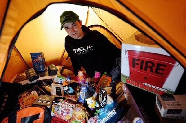 iPhone Camper