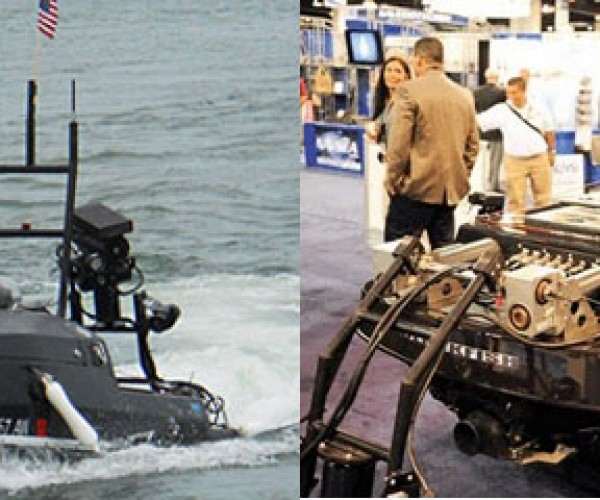 Robot Jet Ski Patrols Harbors Looking for Baddies