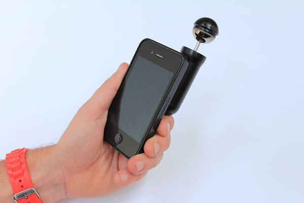 bubblescope smartphone accessory concept by tom lawton