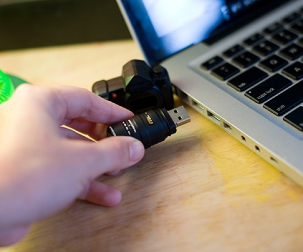 Camera USB Drive Takes Pictures, Videos, Music, Documents…