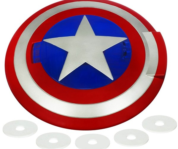 Captain America Disc Launching Shield: Pretend You're the First Avenger