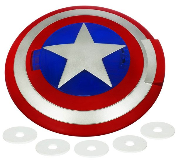 captain america disc launching shield 1