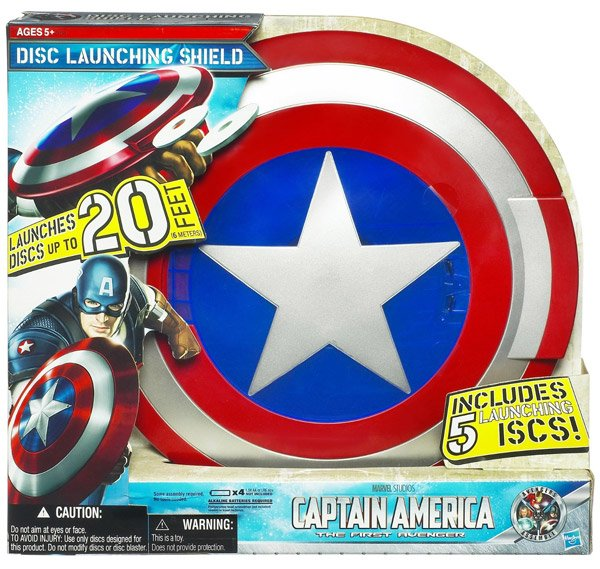 captain america disc launching shield 2
