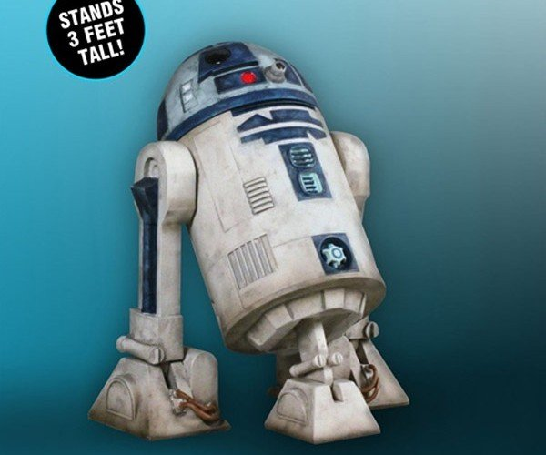 1:1 Scale R2-D2 Coming to Your Home Soon